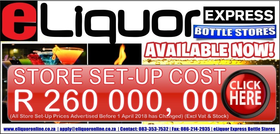 eLiquor Express Set Up Cost R 260 000