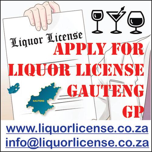 Apply for Liquor License Gauteng