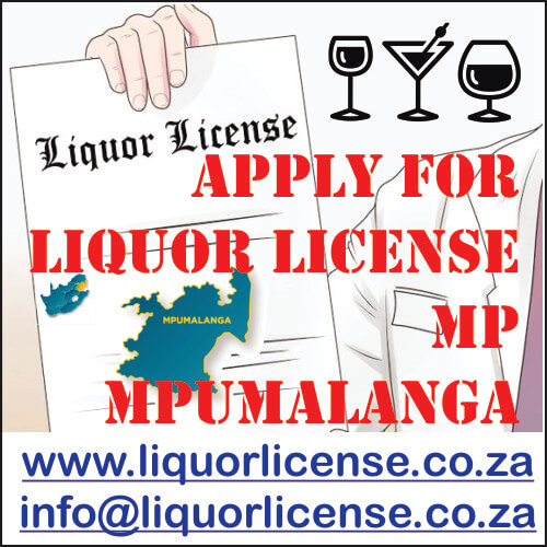 Apply for Liquor License Mpumalanga