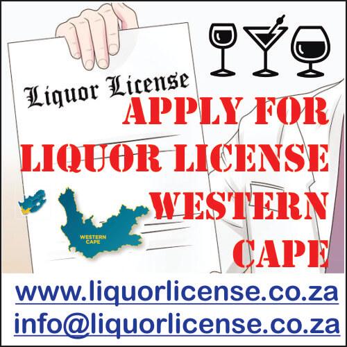 Apply for Liquor License Western Cape