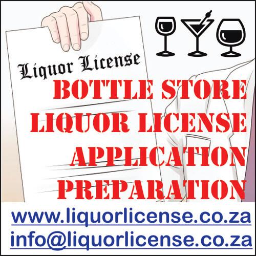 Bottle Store Liquor License Application