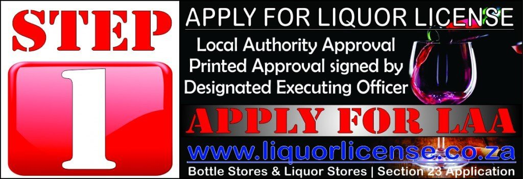 Step 1 - Apply for Liquor License