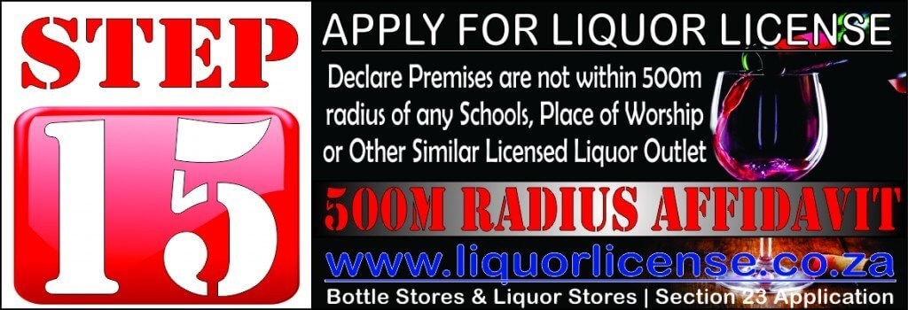 Step 15 - Apply for Liquor License