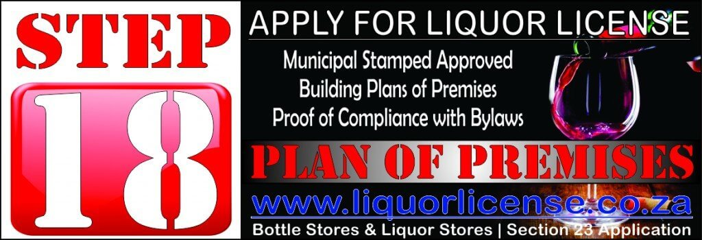 Step 18 - Apply for Liquor License