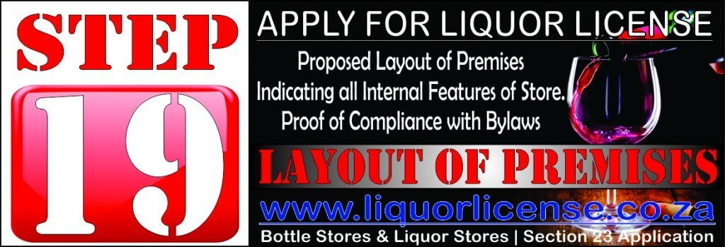 Step 19 - Apply for Liquor License