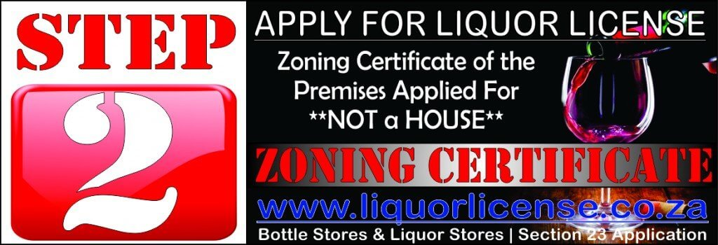 Step 2 - Apply for Liquor License