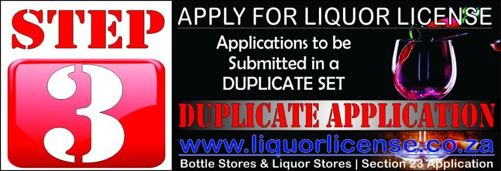 Step 3 - Apply for Liquor License