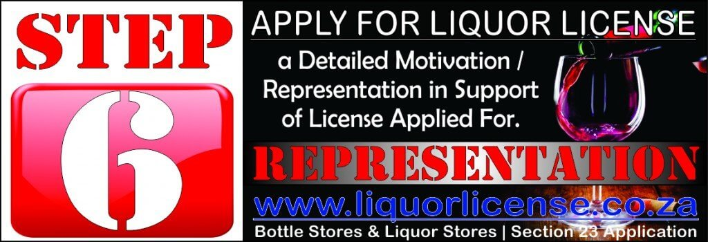 Step 6 - Apply for Liquor License