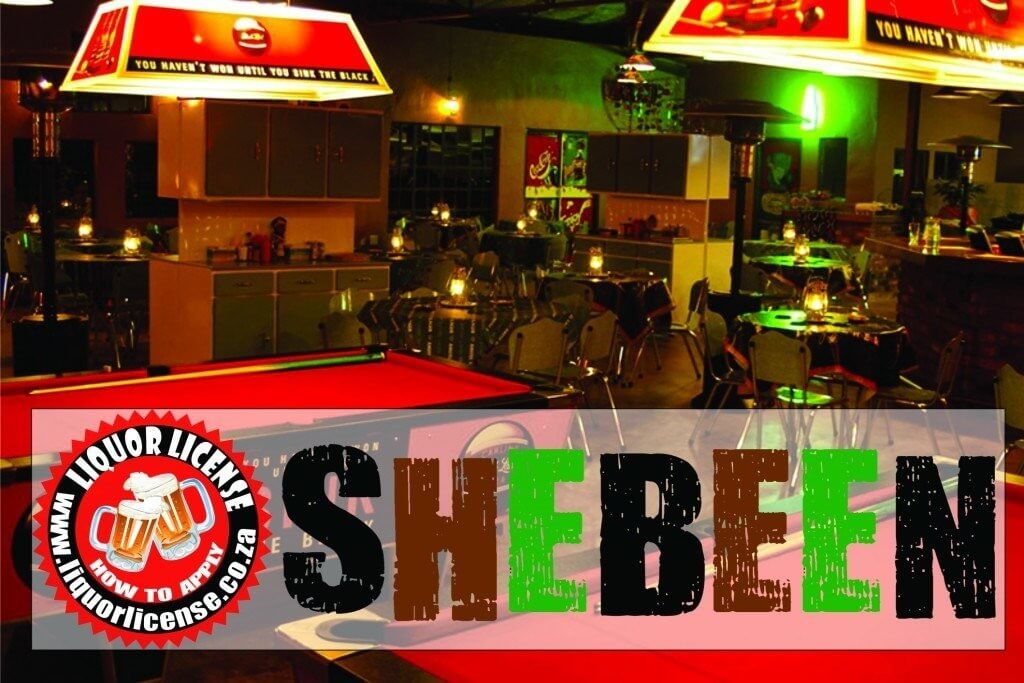 Shebeen Liquor License Tavern Liquor License