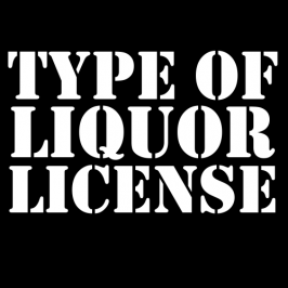 Types of Liquor License
