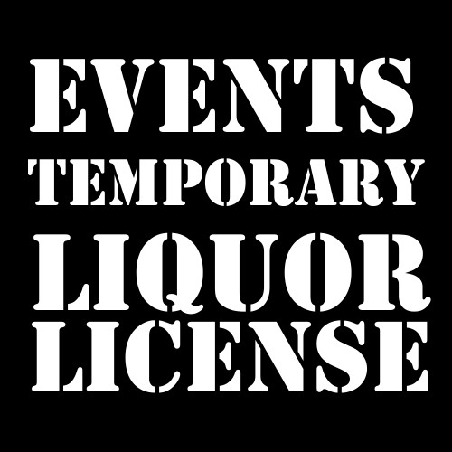 Temporary Liquor License